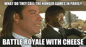 Does the Hunger Games Rip-off The Running Man or Battle