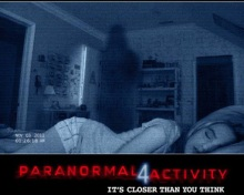 Paranormal Activity 4 Poster Art