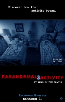 Paranormal Activity 3 Theatrical Poster
