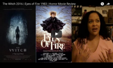 Movie Poster art for The Witch 2016 & Eyes of Fire 1983