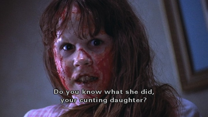 The Exorcist-cunting-daughter