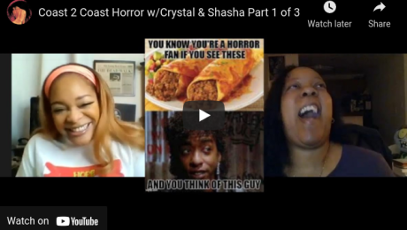 screenshot of video of Crystal Connor and Lady Shasha